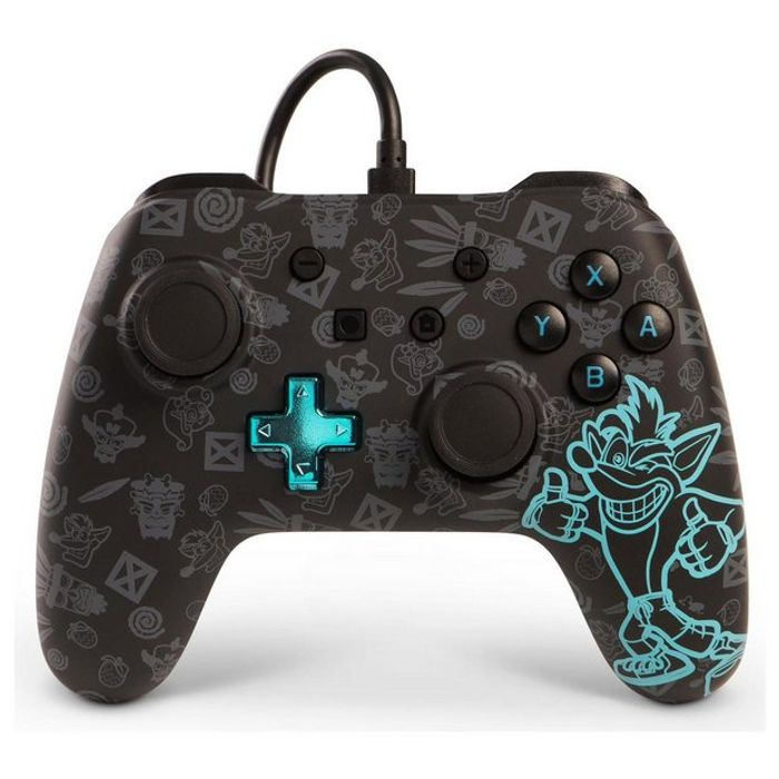 Wired Controller for Nintendo Switch Crash Bandicoot