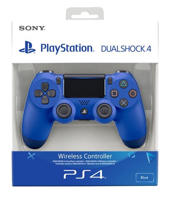 DualShock 4 Controller Wave Blue V2
