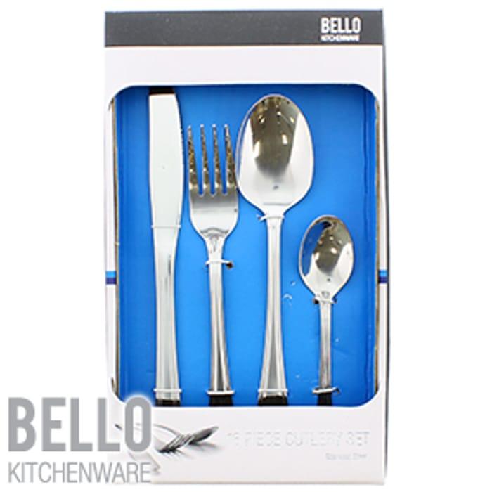 Bello Kitchenware: 16 Piece Cutlery Set