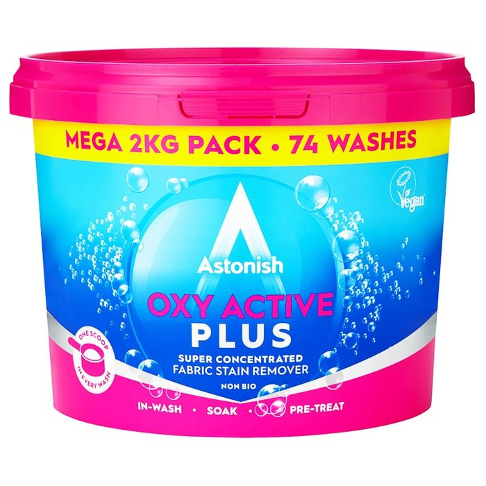 Cheap Astonish Oxy Active plus 2kg at B&M Only £2.99