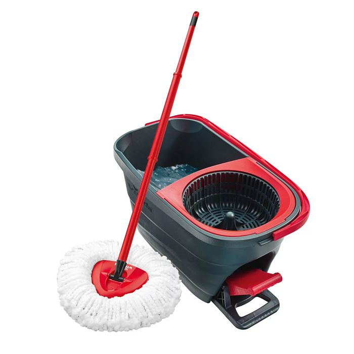 Vileda Turbo Smart Spin Mop and Bucket at Wilko