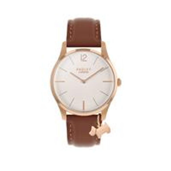 Radley Luxury Every Day White and Rose Gold Dog Charm