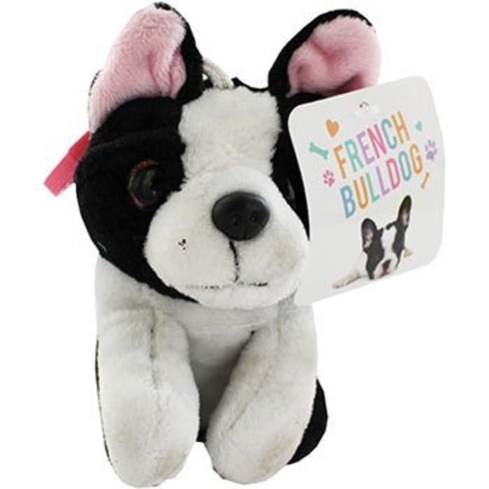 French Bulldog Plush Keychain