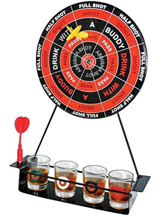 Darts Drinking Game Shot Glasses Magnetic Dartboard Game Set Free Delivery