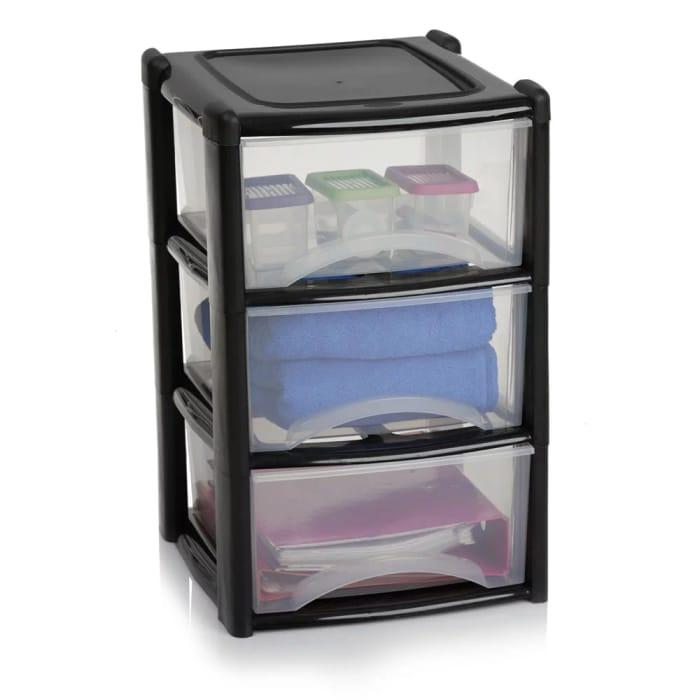 Wilko 3 Drawer Storage Unit