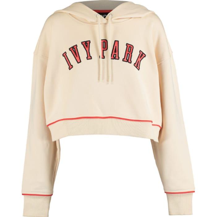 IVY PARK Cream Oversized Hoodie - Save £27