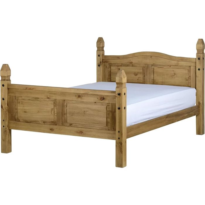 Corona High Foot End Double Bed