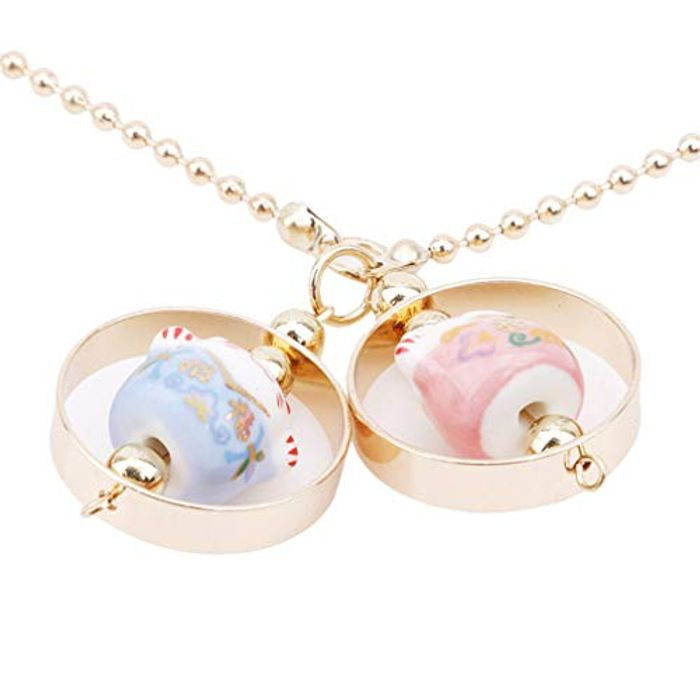 Pinhan Lucky Cat Ceramic Pendant Car Pendant FREE DELIVERY