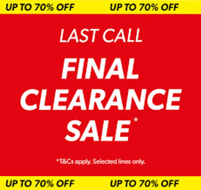 New Look Up to 70% off Last Call
