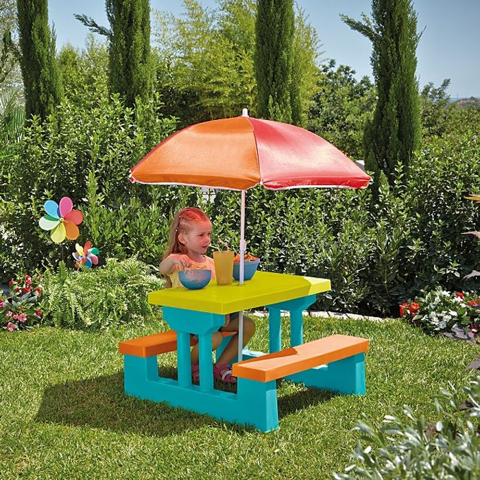 Kids Garden Table and Bench Set with £14.5 discount - Great buy!