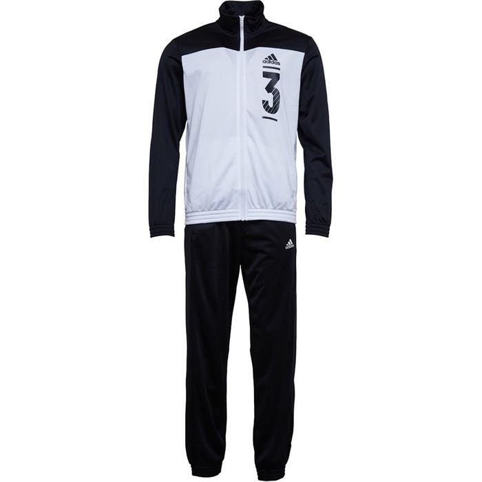 Adidas Mens Athletics Double Colourblock Tracksuit Size 34 Chest up to 50
