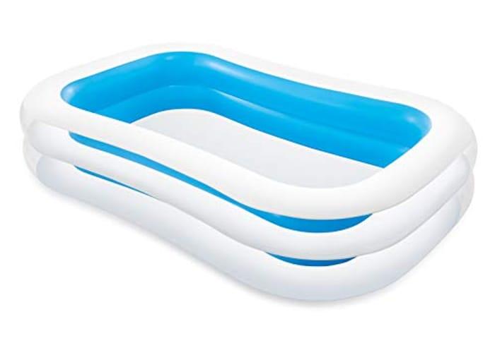 "Intex Swim Centre Family Inflatable Pool, 103"" X 69"" X 22"""