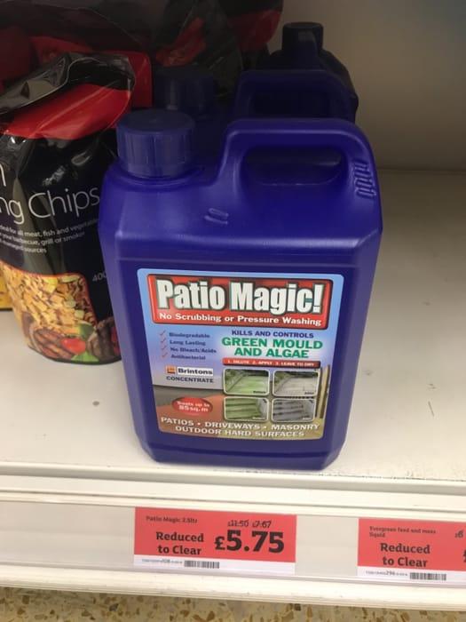 Patio Magic 2.5ltr - Half Price
