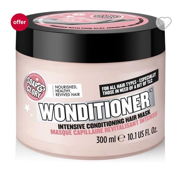 Soap & Glory Wonditioner Intensive Pink Clay Hair Mask 300ml