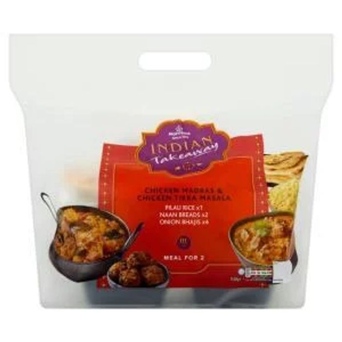Indian Meal for 2 down to £5 at Morrisons Online & In Store