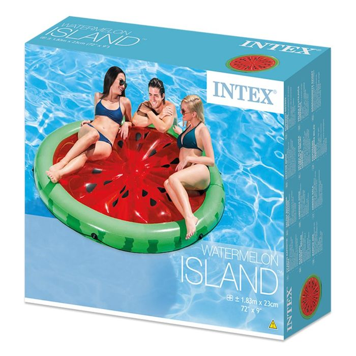 LOUNGER Intex Watermelon Island