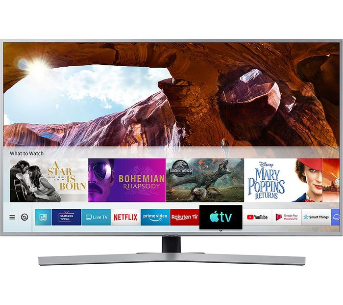 """*SAVE £200* SAMSUNG 55"""" Smart 4K Ultra HD HDR LED TV with Bixby"""