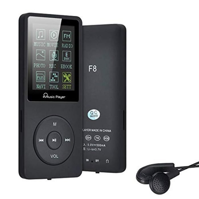 MP3 Player with 70 Hours Music Playback Hi-Fi 8GB