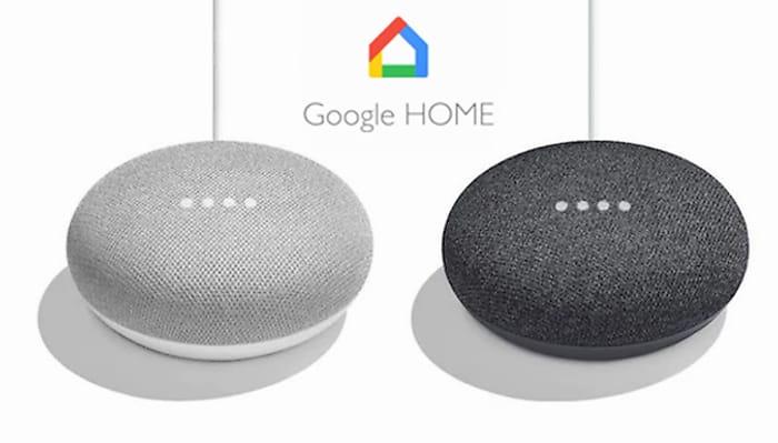 Google Home Mini Hands-Free Smart Speaker - 2 Colours