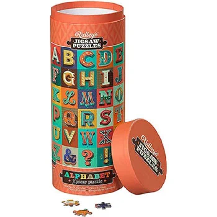 Alphabet 1000 Piece Jigsaw Puzzle