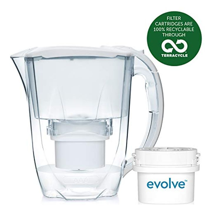 Best Ever Price! Aqua Optima Oria Filter Jug with 1 X 30 Day Evolve Filter
