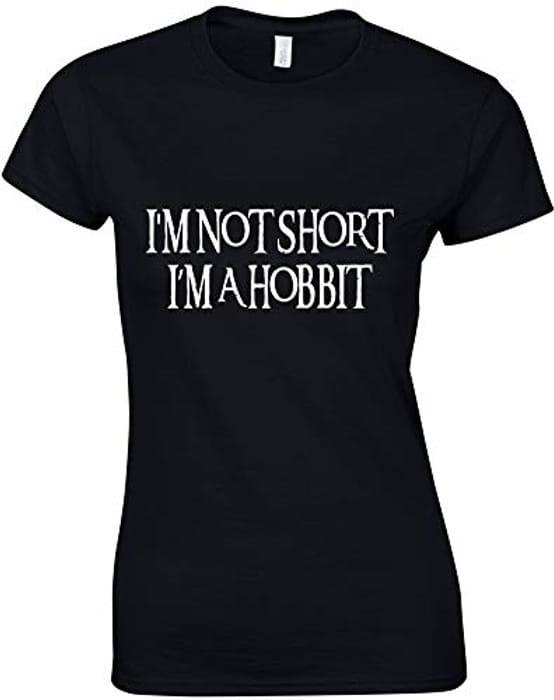 Am Not Small, Im a Hobbit T-Shirt!