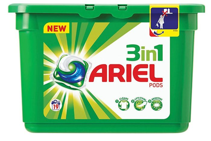 Ariel 3-in-1 Laundry Pods - 72 or 144pk on Sale From £39.99 to £21.99