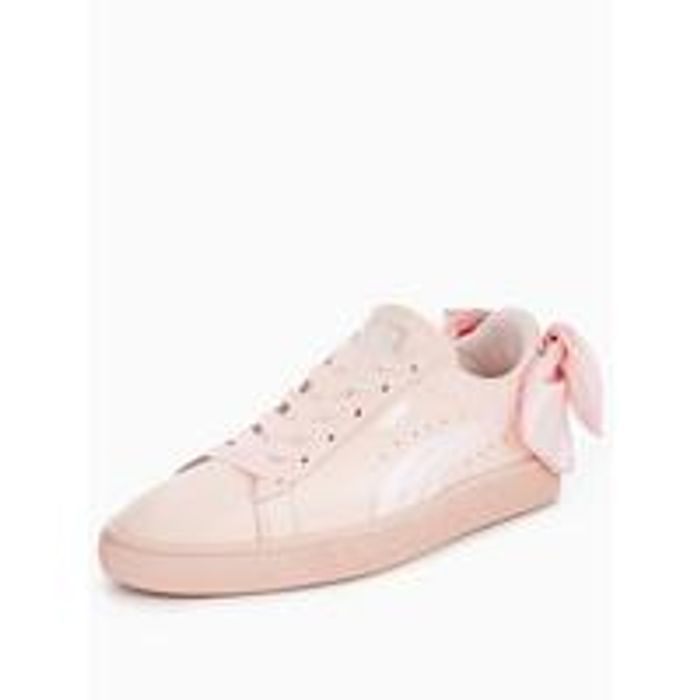 PumaBasket Bow - Pink - Save £35