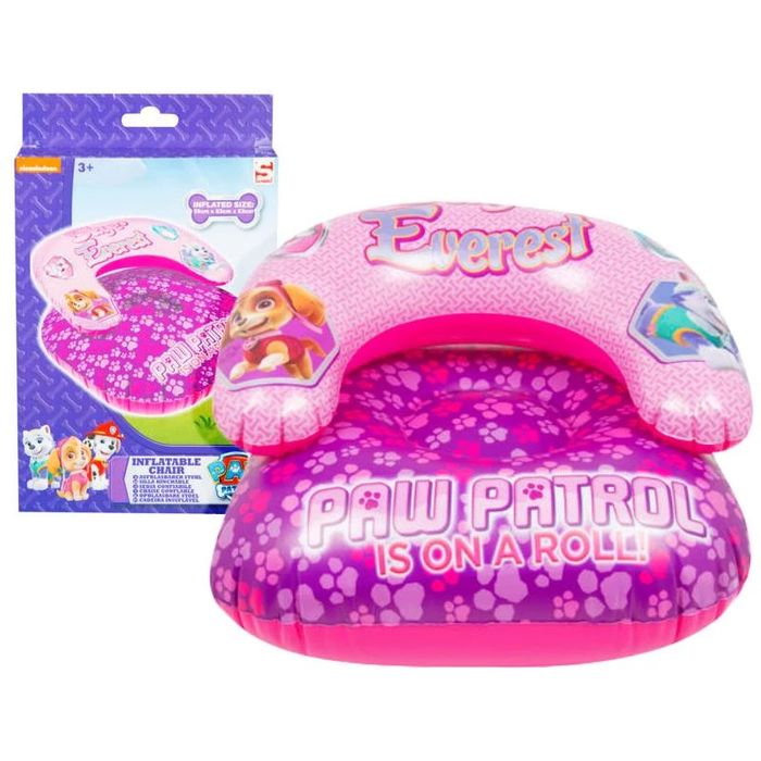 Paw Patrol Inflatable Chair Only £3