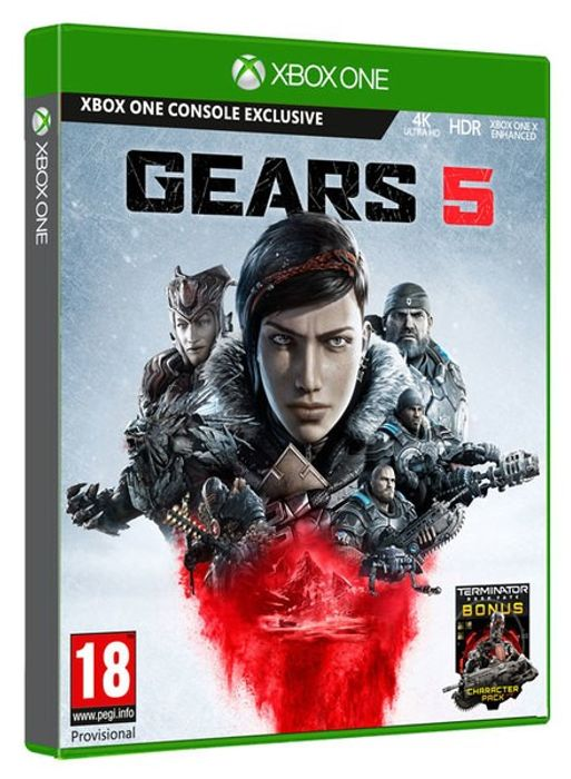 PRE-Order XBOX One Gears 5 + Terminator Dark Fate Character Pack £34.85 at Shopto