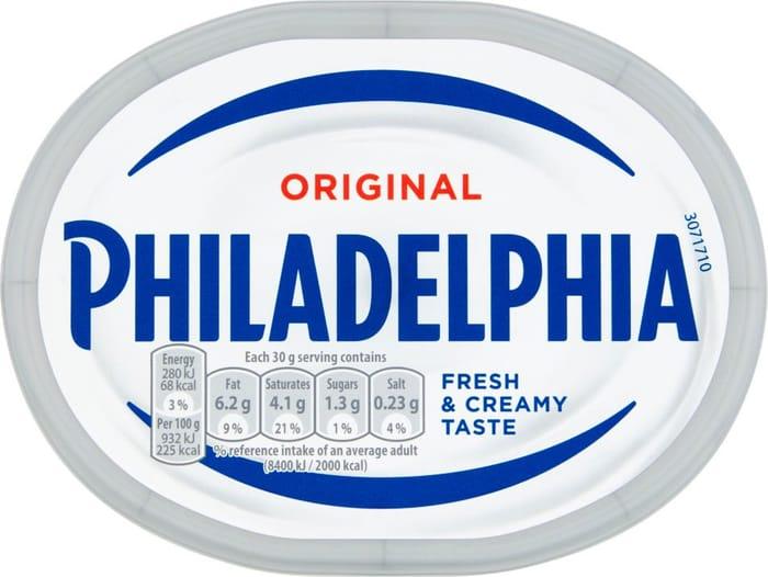 Philadelphia Original Soft Cheese 180G BETTER than HALF PRICE