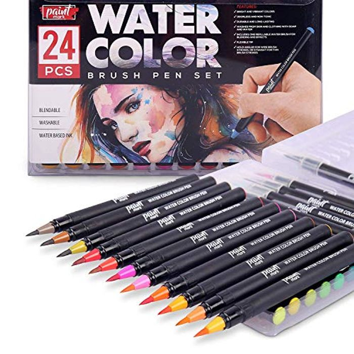 Paintmark Real Brush Pens Only £6.99