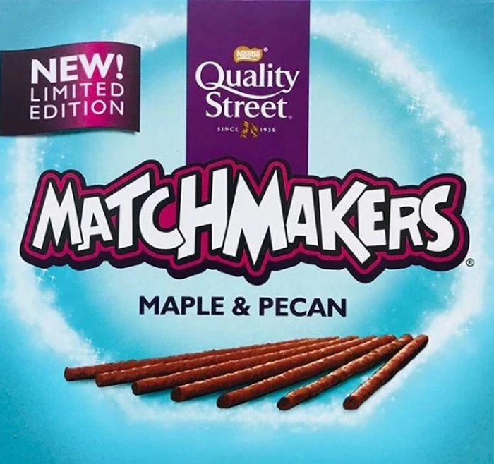 Matchmakers Mint,Orange, Caramel , Gingerbread & New Maple and Pecan flavour