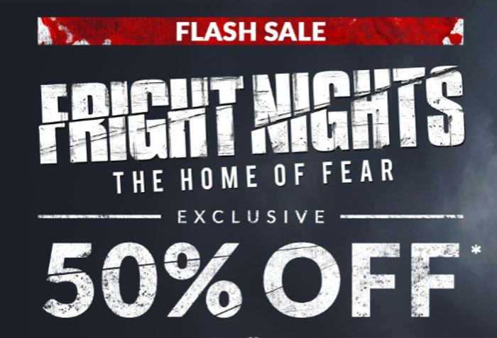 Thorpe Park FRIGHT NIGHTS - From £95 For 2 People Including Hotel Stay!