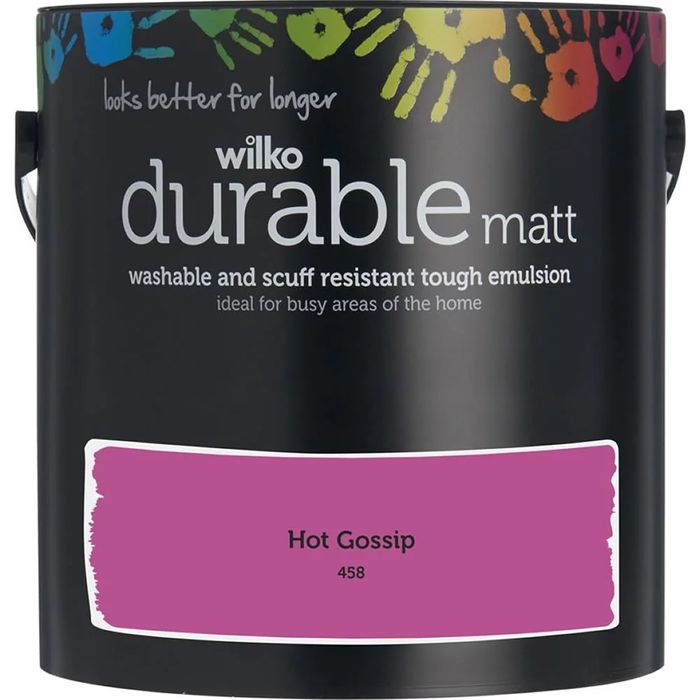Cheap Wilko Durable Paint Lots of Shades at Wilko Only £9