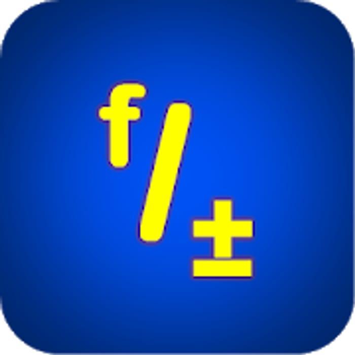 """Fraction Calculator """"Fractal MK-12 Was £1.79"""