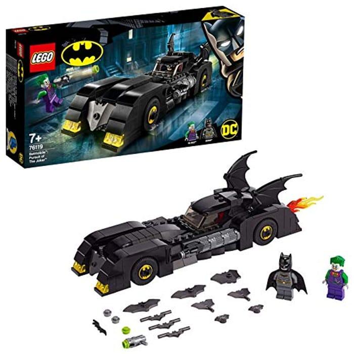 Best Ever Price! LEGO DC Comics Super Heroes 76119 BatmobilePursuit of the Joker