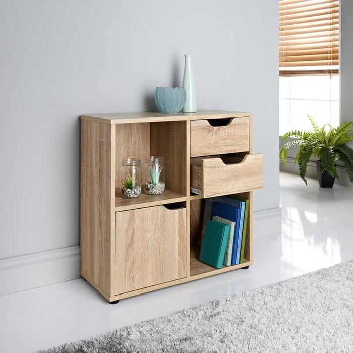 Lokken 4 Cube & 2 Drawer Unit