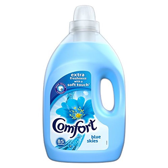 Comfort Blue Skies Fabric Conditioner, 85 Washes (AMAZON