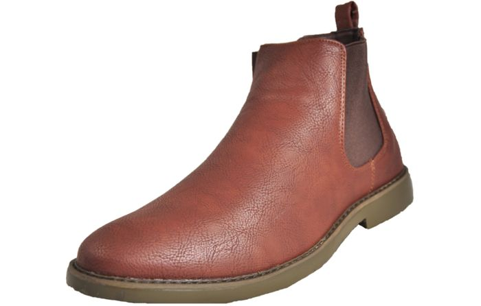 YOUR TURN Roger Chelsea Boots Mens