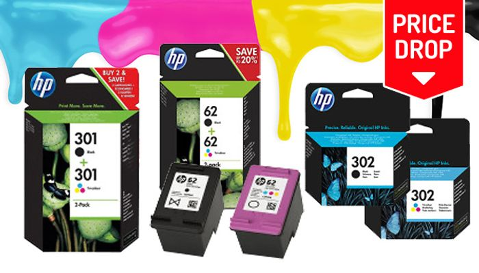 HP and Canon Ink Cartridge Bundles with 43% discount - Great buy!