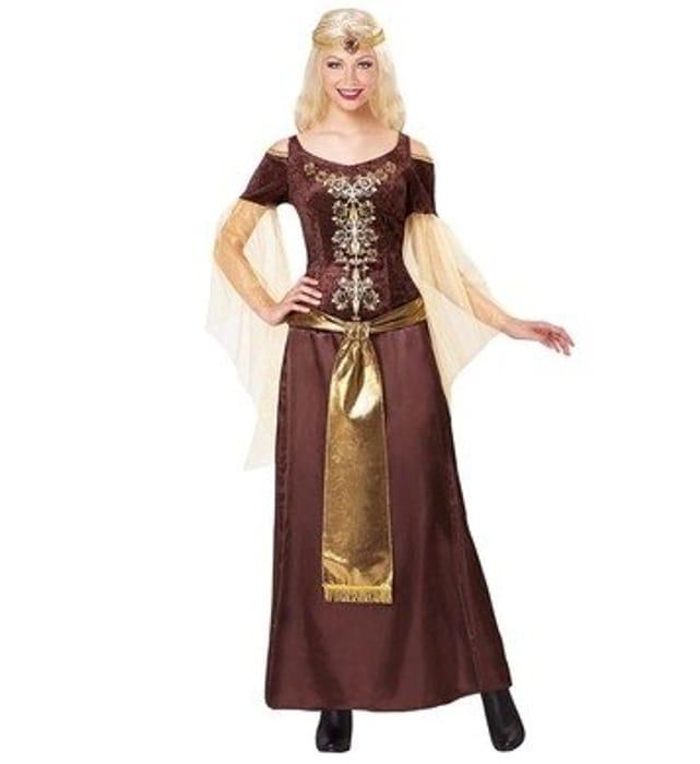 Price Drop! VIKING LADY MEDIUM for FANCY DRESS COSTUME