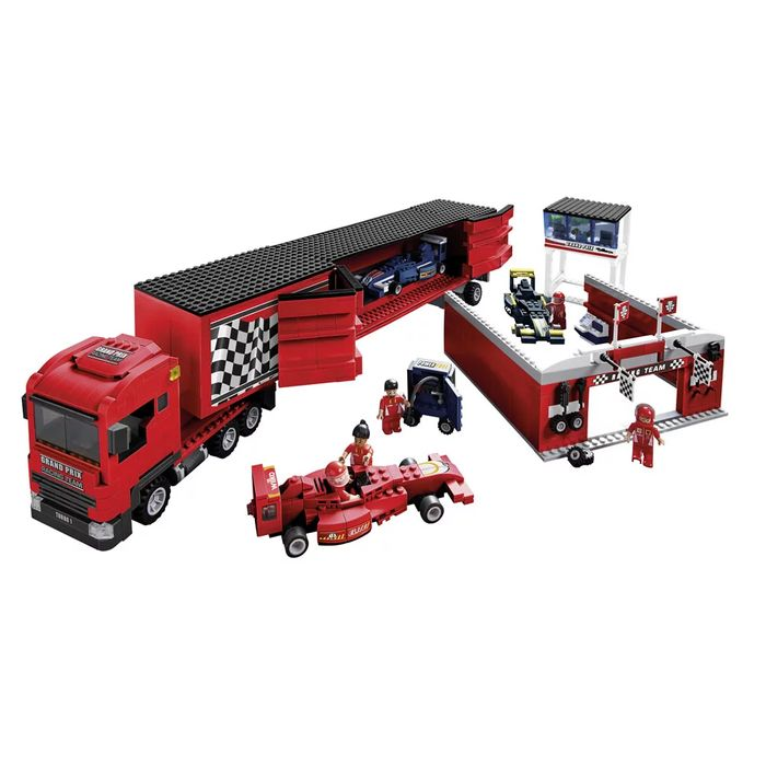 Wilko Blox Car Transporter Colossal Set