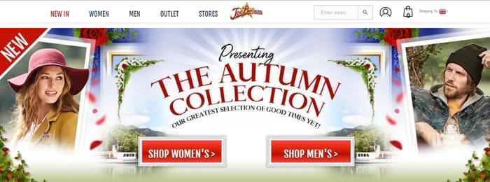 Get A FREE Joe Browns Fashion Catalogue BY POST