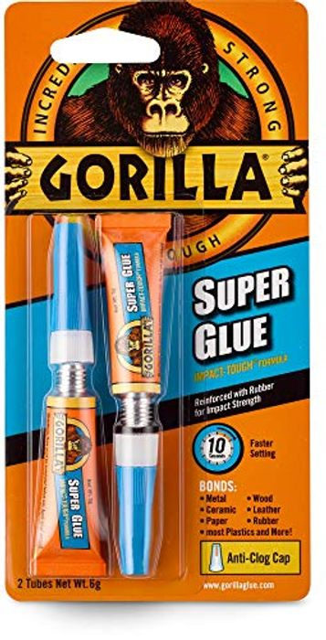 Gorilla Superglue 2 PACK (Amazon Add-on Item)