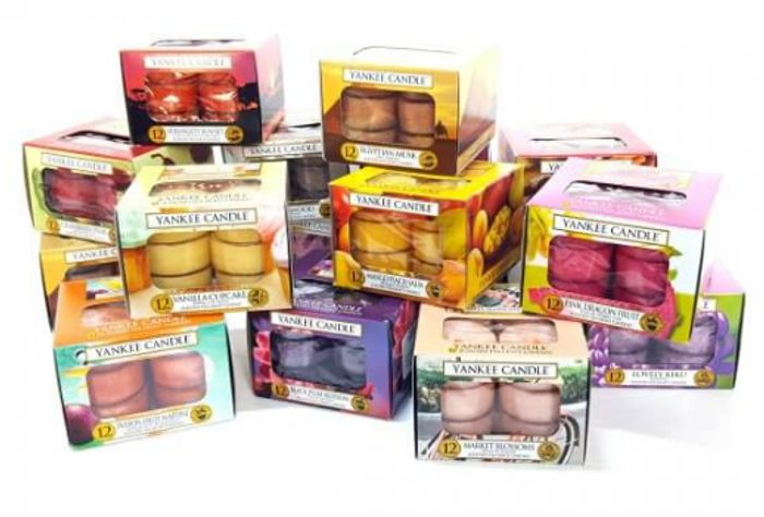 3 BOXES (36) ASSORTED TEALIGHTS Only £9.5