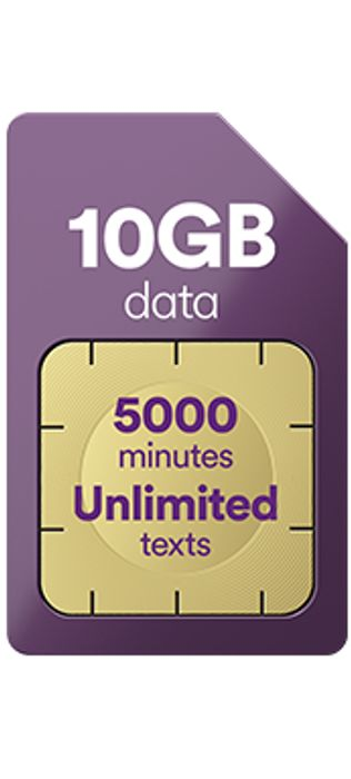 Virgin Media Sim - 10gb/5000mins/unlimited Texts - £10/m for 12m