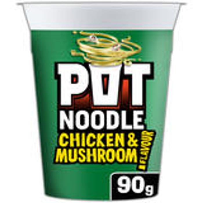 Pot Noodles 90g 6 Varieties