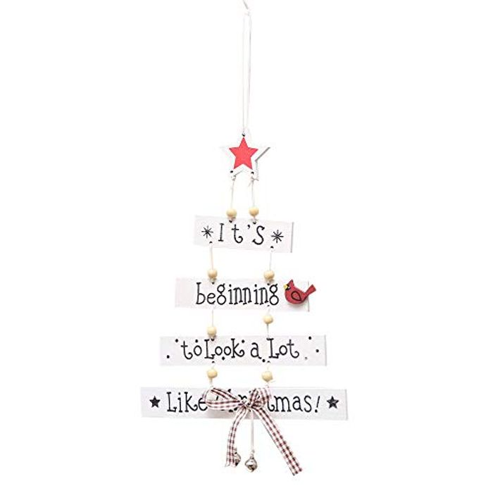 Christmas Decorations Tree Ornament Patterned Hanging