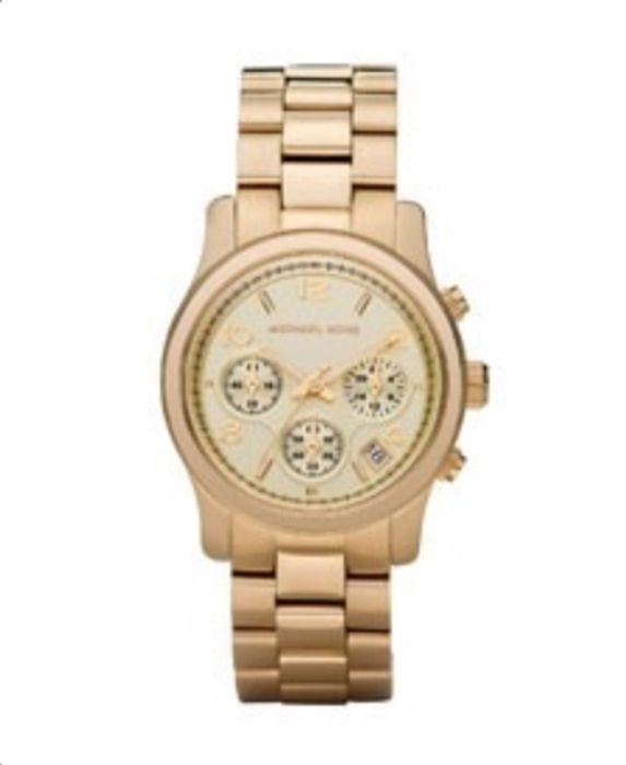 Cheap Michael Kors Runway Gold Watch on Sale From £229 to £114.5